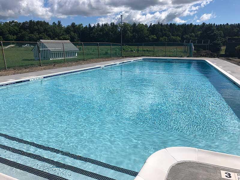 Gunite Swimming Pool Coping | Eastern Aquatics