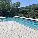 Gunite Swimming Pool located in Catskill NY